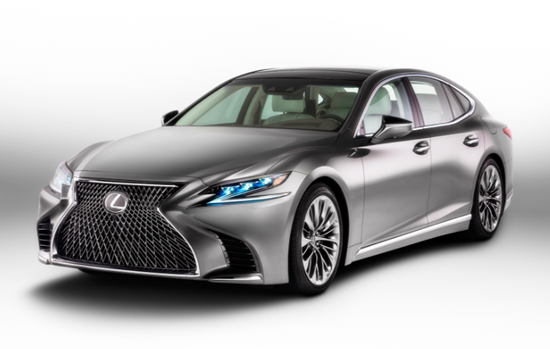 2018 Lexus LS 460 F Sport Price in India