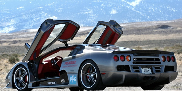 2018 SSC Ultimate Aero TT Rear Style