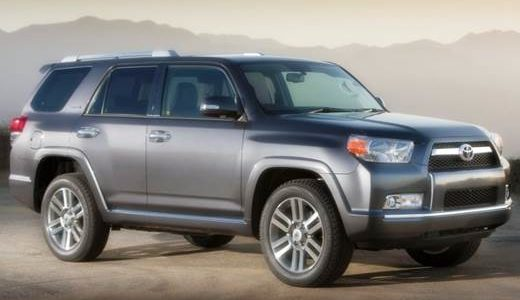 2018 Toyota 4runner Spy Shots