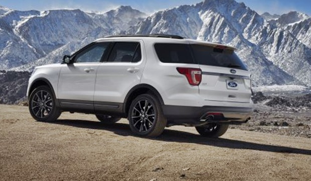 2018 Ford Explorer Sport Rear View