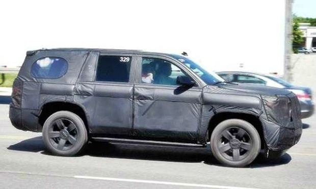 2019 Toyota 4Runner Spy Shot
