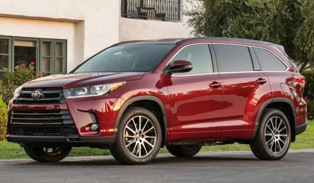 2019 Toyota Highlander Redesign