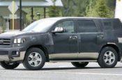 2019 Toyota Sequoia Spy Photos