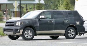 2019 Toyota Sequoia Spy Photos
