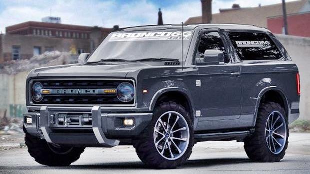 2017 Ford Bronco Exterior