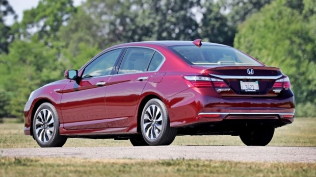 2019 Honda Accord Sedan Rear View