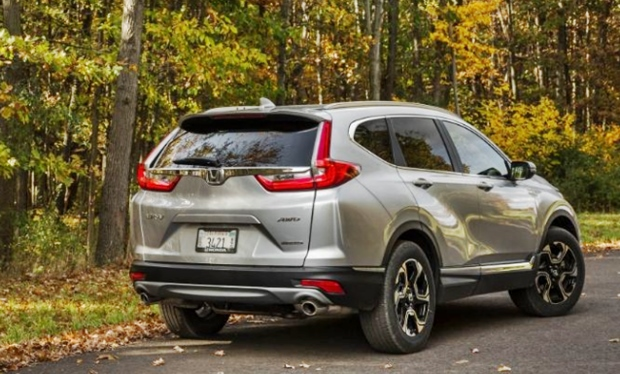 2019 Honda CRV Rear View