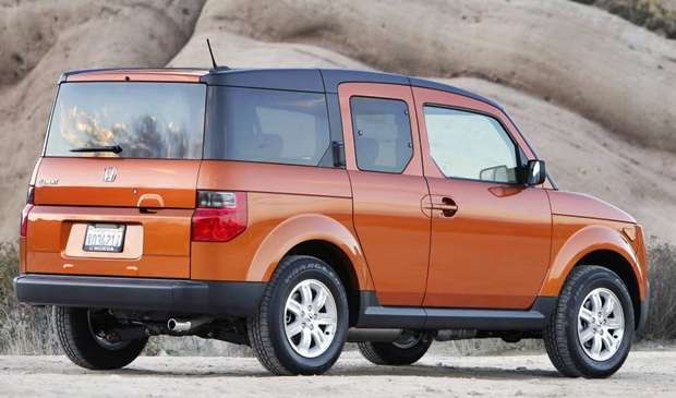 2019 Honda Element Rear Style