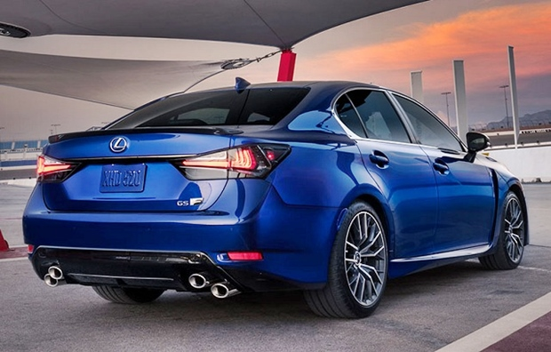 2019 Lexus GS F Sport Rear View