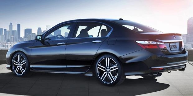 2019 Honda Accord Sport Rear View