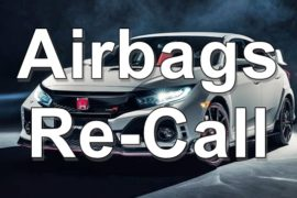 2019 Honda Civic Type R Recall Airbag