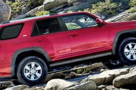 2020 Toyota 4runner Redesign