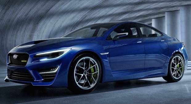 2020 Subaru WRX STI Hatchback Concept
