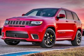 2019 Jeep Grand Cherokee Trackhawk Review